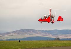G-CJDW Magni M16 , Scone (wwshack) Tags: scotland perthshire scone gyro perthairport autogyro gyrocopter egpt gyroplane magnim16 sconeairport gcjdw