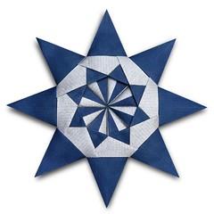 Maria's Star (Evan Zodl) (EZ Origami) Tags: evan star origami maria 8 modular kraft zodl sinayskaya