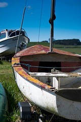 Alnmouth Fishing Boats (Stuart Tarn) Tags: england boats spring unitedkingdom bluesky northumberland alnmouth gb northeast