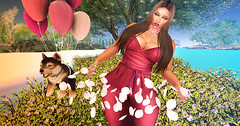 Majesty- The Joy Of Spring (Ebony (Owner Of Majesty)) Tags: woman fashion female spring women feminine femme queen fancy females hautecouture miss mistress fashionista couture jian domme dainty majesty queenofhearts womensfashion littlebones cynful labelmotion realevilindustries hayabusadesign ebonycyberstar