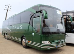 EV16DEW Dews at UK Coach Rally 2016 in Blackpool (j.a.sanderson) Tags: uk mercedes benz coach rally blackpool coaches tourismo dews 2016 ukcoachrally2016 ev16dew