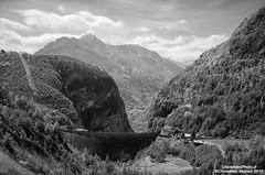 All'interno della diga del Vajont (ChinellatoPhoto) Tags: dam landslide frana diga vajont longarone disastro