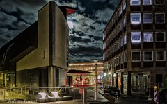 Stadtbcherei Mnster (90flyhigh) Tags: night nacht library mnster stadtbcherei