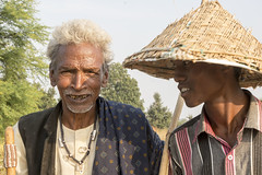 Sheaphards in rural village (wietsej) Tags: india men zeiss rural village sony tribal 1670 chhattisgarh kawardha sel1670z a7rii sheaphards