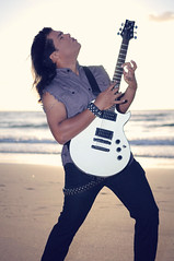 Sergio Michel (sergiomichelmusic) Tags: santiago musician music celebrity beach sergio rock metal train james google official photographer guitar miami hard hollywood michel heavy guitarist bing ibanez trirail artcore jamessantiago sergiomichel