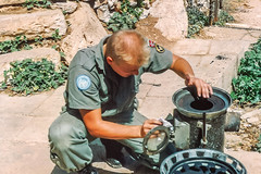1992 UNIFIL - Maintenance, maintenance and maintenance (Normann Photography) Tags: lebanon un service 1992 libanon norwegianarmy unifil unitednationsinterimforcesinlebanon fntjeneste