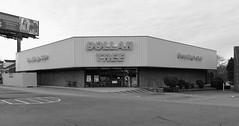 'Dollar Tree' store - Everything's $1.00 (micro.burst) Tags: bw georgia suburban storefronts gwinnettcounty olympusviewer3 olympusem10