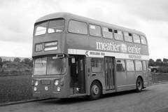 Midland Red UHA 221H, Daimler Fleetline at Evesham (majorcatransport) Tags: alexander daimler evesham midlandred westernmidlandsbuses