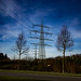 400 KV Powerlines, Gelsenkirchen