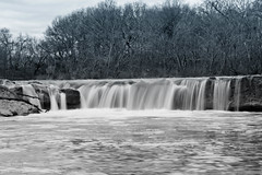 McKinney Falls State Park (OscarAmos) Tags: blackandwhite water austin waterfall texas lightroom ndfilter 18200mm detailenhancer nikond7200 oscaramosphotography