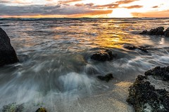 Rush (mikekreationzz) Tags: ocean longexposure sunset sea art love lens fun happy hawaii landscapes nikon seascapes first sigma interests d810 2435art