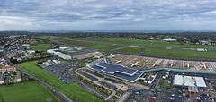 Guernsey Airport Christmas Day 2015 (Ningaloo.) Tags: christmas panorama kite airport closed day sony terminal aerial kap fleet runway guernsey gci airfield aerodrome embraer atr 2015 aurigny pfk a5000