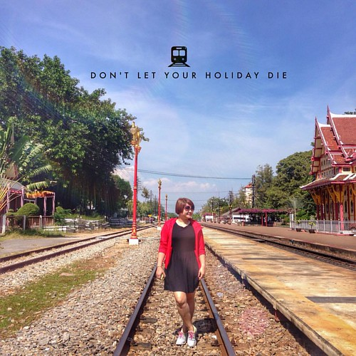 "C'riosly ""If you don't take risks, you'll have a wasted soul......#donletyourdreamdie #itsv #quote #thailand #huahin #travel #Train #quote #instakl #instamy #instatravel #instagood #instadaily #instamood #instagrammy #instagrammers #instagramthailand #igm"