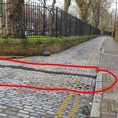 Our cobblestones need to be put back (Carol B London) Tags: road tarmac roadworks cobblestones e1 stepney londone1 towerhamlets stepneygreen eyesores lbth