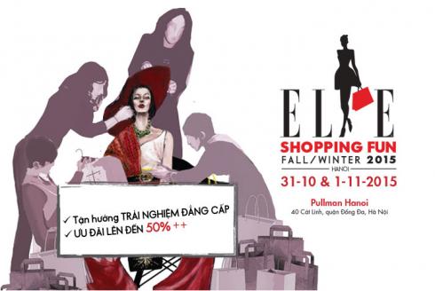 ELLE Shopping Fun 2015 tại Hà Nội