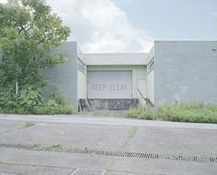 abandoned barrack (Egg Cheung) Tags: tree abandoned 120 film grass truck hongkong decay burma warehouse clear lorry area keep medium 6x7 loading urbex barrack gurkha fujicolorpro400h fujifilmgf670professional wwwfacebookcomurbanfragment