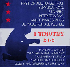 1 Timothy 2:1-2 (joshtinpowers) Tags: bible timothy scripture