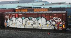 weez (timetomakethepasta) Tags: train graffiti boxcar weez d30 freight nekst wyse fxe ferromex