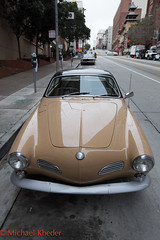 IMG_8047.jpg (Dj Entreat) Tags: sf sanfrancisco california ca cars car canon volkswagen chinatown outdoor daytime karmannghia redring canon6d 1635lf28ii