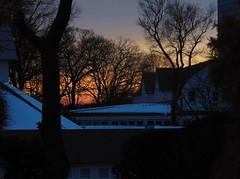 Roton Point (caboose_rodeo) Tags: trees winter sunset favorite skyline silouette norwalkct 7652 rowaytonct
