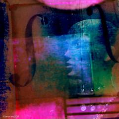 The sound of music (Lemon~art) Tags: music colour texture mannequin manipulation cello