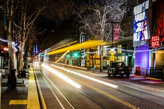 Chasing Light (micadew) Tags: street city longexposure nightphotography light urban night timelapse interesting streetshots streetphotography streetscene citylights sacramento urbanlife urbanscene urbanshots chasinglight micadew interestingmicadew
