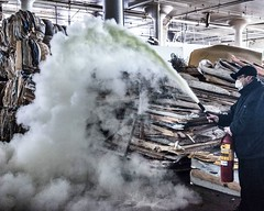 Up in smoke (neilsharris) Tags: chicago building abandoned factory warehouse urbanexploration vacant urbex cheechandchong
