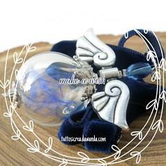 Make a wish.. #wish #dandelion #amulets... (Tuttosicrea) Tags: feathers dandelion fantasy wish makeawish glassjewelry amulets uploaded:by=flickstagram instagram:photo=1121618787555437136199187393