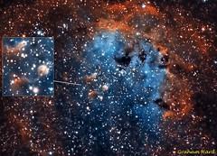 The Tadpole Nebula IC410 (grahamxx) Tags: image telescope nebula ccd ts tadpole astounding atik pixinsight ic410 astoundingimage 490ex apo65q