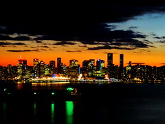 A sparkling night skyline (peggyhr) Tags: city blue orange canada black green skyline night vancouver reflections lights bc harbour thegalaxy peggyhr heartawards level1photographyforrecreation thelooklevel1red thelooklevel2yellow thelooklevel3orange thelooklevel4purple musictomyeyes~l1 myhatsofftoyou scapes super~sixbronzestage1 dsc07834a