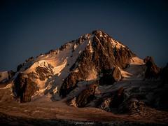 Ultime Lumire sur Le Chardonnet (Frdric Fossard) Tags: alpes lumire altitude glacier neige soir chamonix rocher glace alpinisme clart hautesavoie aiguille lueur chardonnet peron luminosit glacierdutour massifdumontblanc hautemontagne