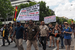 Invasion Day march and rally 2016-1260141.jpg (Leo in Canberra) Tags: march rally protest australia canberra australiaday act indigenous invasionday garemaplace 26january2016 aboriginalandtorresstraightislanders lestweforgetthefrontierwars endtheusalliance closepinegap