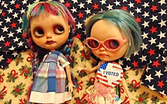 2016 Feb. Priscilla and Alice Vote