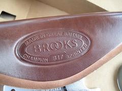 New Brooks B17 Titanium Sprinter Saddle In Box (moonm) Tags: b17 titanium saddles brooks sprinter