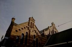 Westergasfabriek (Eveans Mellonie) Tags: holland brick film dutch sunshine architecture 35mm warmth redclay nikonfe kodakfilm sunnydays ilovefilm kodakektar nikkor24mmf28