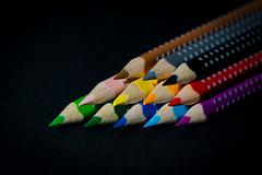 Bunt ... Stifte (Redfinn-Photoart) Tags: abstract pencil sony clean crayon bunt farben abstrakt colourfull buntstifte fabercastell stifte 55210 colourart a6000 tag102 alpha6000 365fotosorg