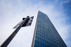 same size? (Steffen Dufner Photography) Tags: city color skyline architecture contrast canon buildings frankfurt 1018 mainhatten ffm 60d