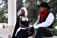 IMG_2214 (willdleeesq) Tags: storm cosplay xmen cosplayer marvel bishop marvelcomics balboapark cosplayers steampunk cosplayinsd