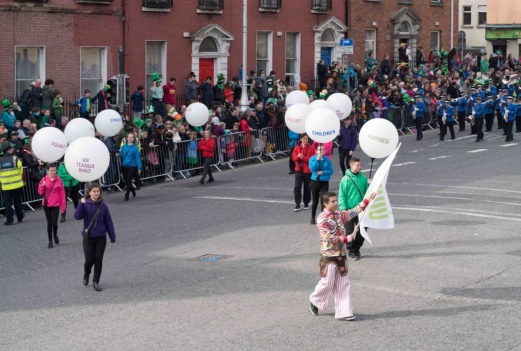 ESSEX MARCHING CORPS FROM THE UK [ST. PATRICK'S PARADE DUBLIN 2016]-112619
