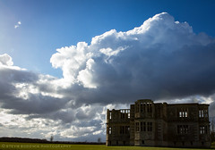 Lyveden New Bield (Stevie Borowik Photography) Tags: new winter summer sky cloud house reflection building robert rural outdoors outdoor thomas northamptonshire grade symmetry east national trust limestone unfinished elizabethan sir manor listed midlands incomplete strict 2016 lyveden bield oundle i tresham stickells 160405