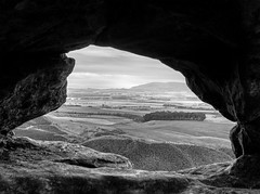 A window on the county (wwshack) Tags: fife lochleven bishophill westlomond glenvale johnknoxpulpit