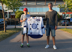 Filip och Oscar 2015-08-22 (Michael Erhardsson) Tags: hockey arena if derby lif 2015 leksand ishockey premir leksands duellen tegera hemmapremir gvledala 20150822