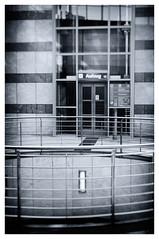 Westentor (Chragn) Tags: bw 35mm germany deutschland 50mm nikon europa europe elevator nrw sw nikkor ruhrgebiet dortmund aufzug dx ruhrpott nikond300s nikkorafs35mmf18ged