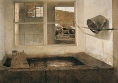 Andrew Wyeth  Spring Fed, 1967 | Tempera | Art of Darkness Daily Art Blog | Andrew Wyeth  Spring Fed, 1967Painting: Tempera. Private Collection. // via Art of Darkness: Daily Art Blog (ArtAppreciated) Tags: life art history modern century farmhouse rural painting landscape countryside spring darkness pennsylvania farm fineart country andrew blogs american artists wyeth farmer fed 20th genre realism peintre pennsyltucky artblogs tumblr artoftheday artofdarkness date1967 artappreciated artofdarknessco artofdarknessblog artofdarknesscovu