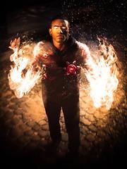 FIRESTORM (samuel.chev) Tags: cosplay digitalart cw dccomics superheros edit firestorm legendsoftomorrow