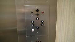 elevator buttons in petroleum building (DieselDucy) Tags: sanantonio texas lift elevator ascensor lyfta rafe lyftu