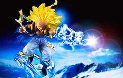 Dragonball Gotenks (YeoZz) Tags: toy z trunks bandai goten dbz figuartszero