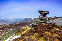 The Salt Cellar (Peter Quinn1) Tags: outcrop landscape derbyshire peakdistrict tor gritstone derwentedge saltcellar