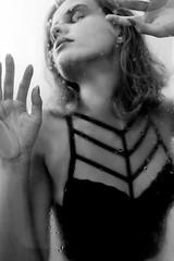 Shower (Cadu Dias) Tags: brazil portrait people bw woman hot glass girl monochrome branco brasil female 35mm lens shower prime nikon df retrato mulher pb preto bn e brazilian 35 dias ritratti cadu monocromtico feminilidade cadudias cadupdias nikondf