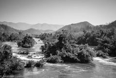 Nam Pawn River (JohannesLundberg) Tags: expedition water monochrome forest river burma myanmar mm geology biology rapid deforestation kayah myanmarburma